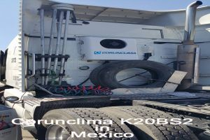 Corunclima All-Electric Truck Air Conditioner K20BS2 Installed in Mexico
