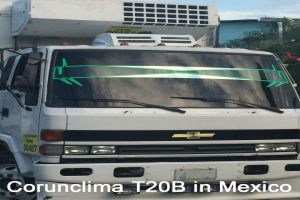 Corunclima All-Electric Truck Air Conditioner T20B Installed in Mexico
