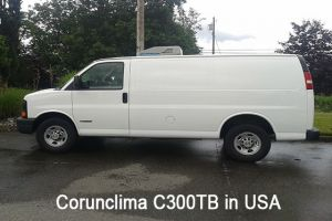 Corunclima All-Electric Transport Refrigeration Unit C300TB Installed in USA
