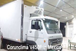 Corunclima V450F Transport Refrigeration Unit Installed in Mexico