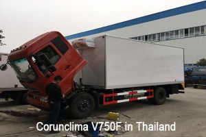 Corunclima Transport Refrigeration Unit V750F Installed in Thailand