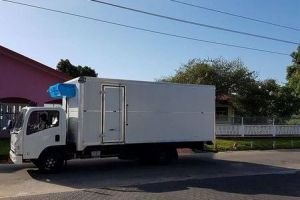 Built-in standby transport refrigeration unit V650FE in South America