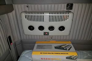 Electric Truck Air Conditioner K20BS2 Dec 5th 2017 Installation Case