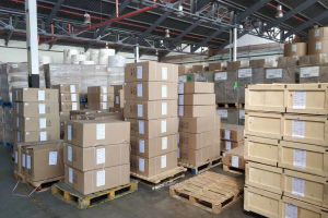 Another batch of products arrived at warehouse in south africa